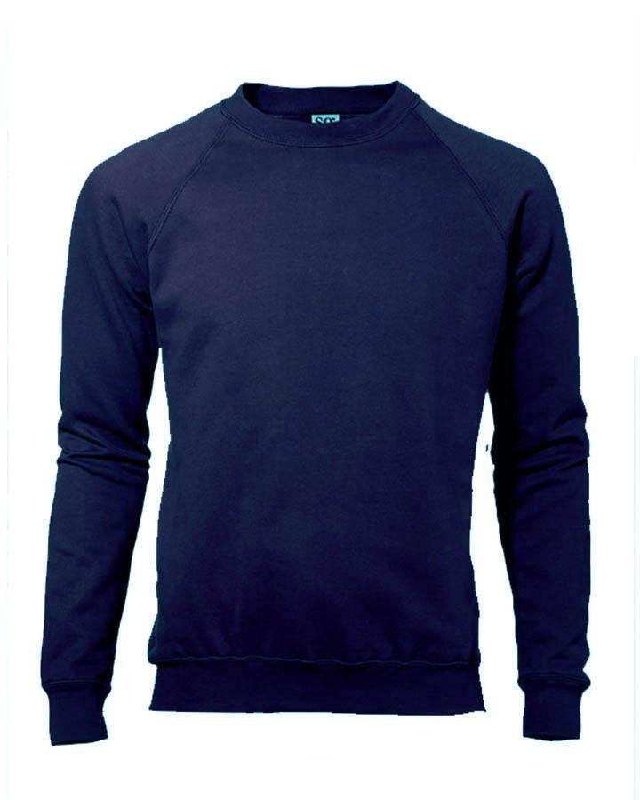 Sweatshirt Col Rond Raglan
