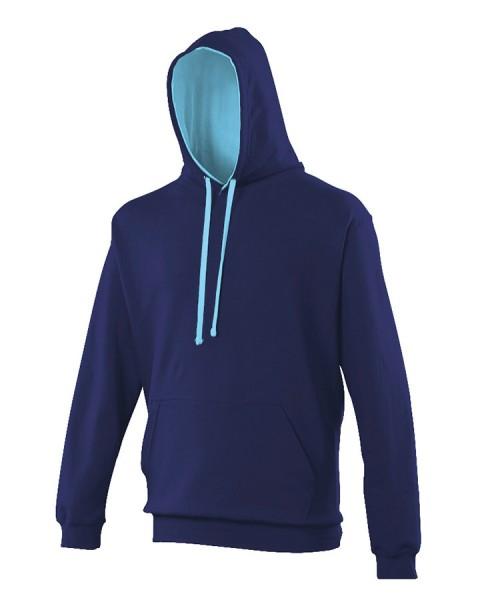 Sweatshirt à capuche Bicolore